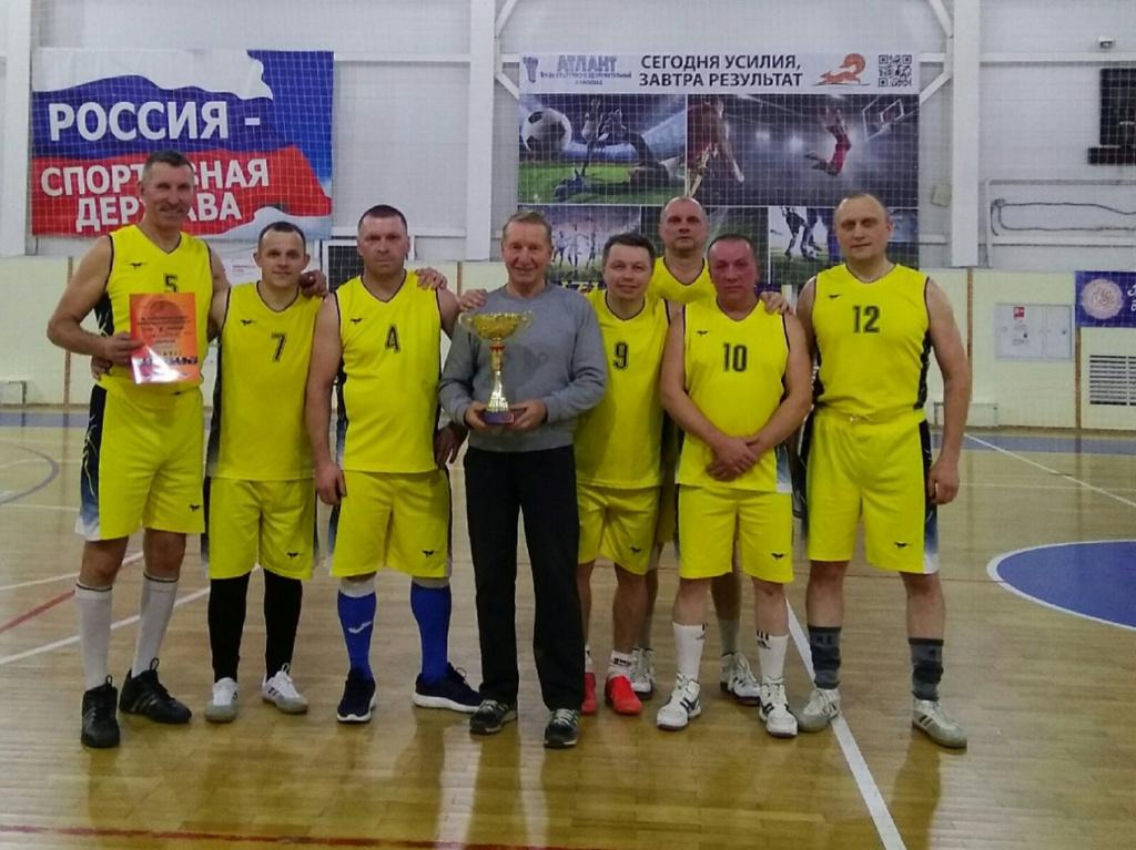 27 октября завершились соревнования по баскетболу в рамках спартакиады среди ветеранов спорта Грязовецкого муниципального района сезон 2020-2021 гг.